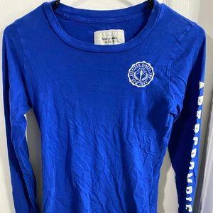 Long Sleeve Juniors A&F Girls shirt